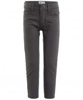 Серые твиловые брюки