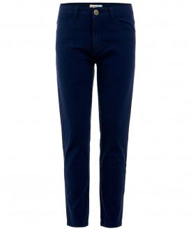 Синие твиловые брюки