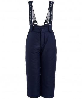 Синие зимние брюки