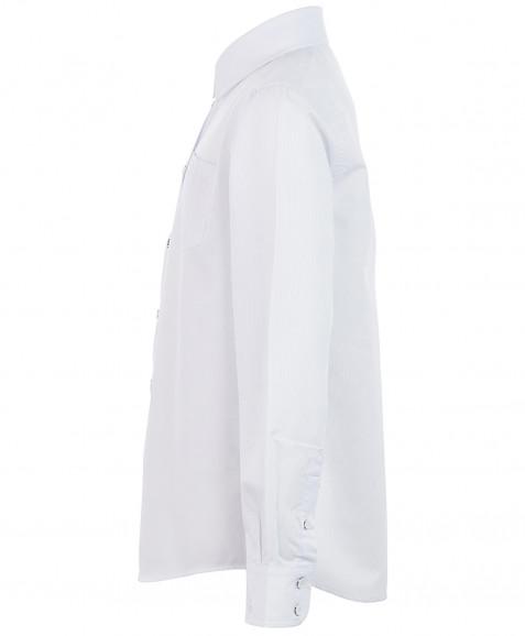 Белая фактурная рубашка