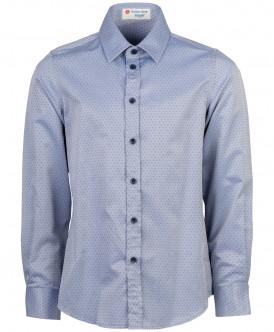 Серая рубашка с орнаментом