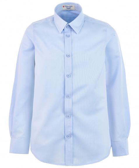 Голубая рубашка в полоску