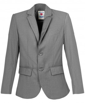 пиджак button blue для мальчика, серый