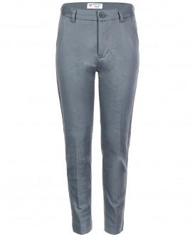 Серые классические брюки Button Blue