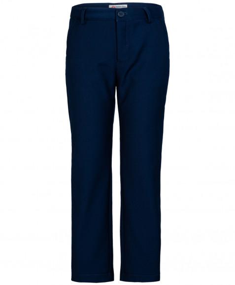 Синие утепленные брюки