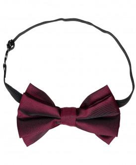 Бордовый галстук-бабочка Button Blue