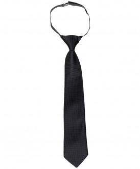 Черный галстук Button Blue