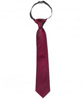 Бордовый галстук Button Blue
