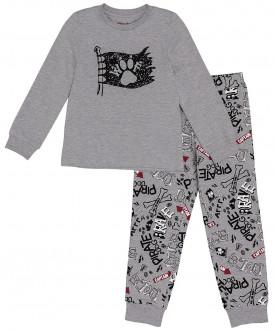 Серая пижама для мальчика