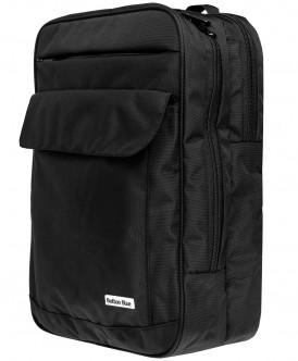 Чёрный рюкзак Button Blue
