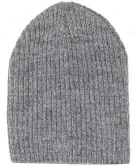 Серая вязаная шапка 219BBBX73021900 фото