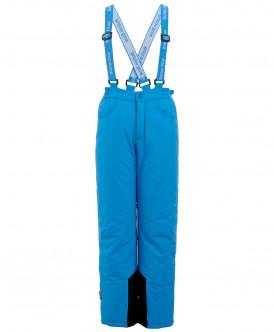 Синие утепленные зимние брюки 219BBGA64023700 фото