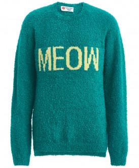 джемпер button blue для девочки, зеленый