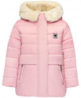 Розовая зимняя куртка 219BBGC41031200 фото