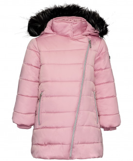 Розовое зимнее пальто Button Blue