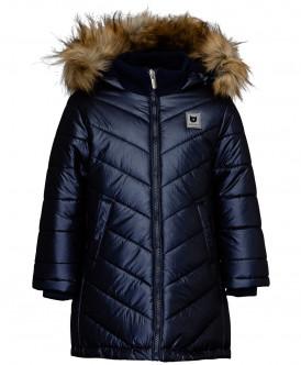 Синее зимнее пальто 219BBGC45021000 фото