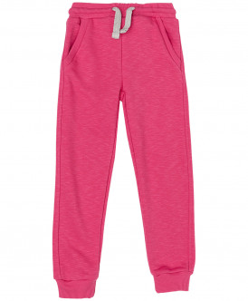 Розовые меланжевые брюки