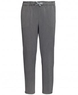 Купить 219BBGC63021900, Серые меланжевые брюки Button Blue, серый, 98, Девочки