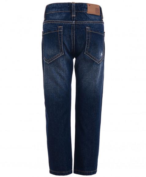 Синие джинсы Boyfriend