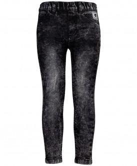 Черные джинсы Slim Fit на резинке