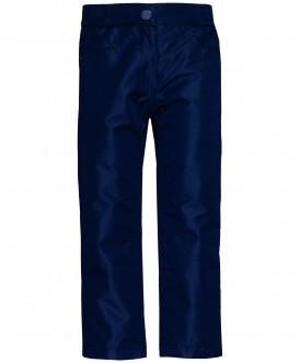 Синие брюки на флисовой подкладке