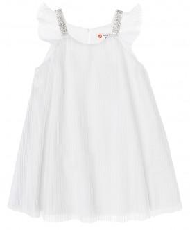 Белое нарядное платье 219BBGP25040200 фото