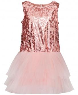 Розовое нарядное платье 219BBGP50011213 фото