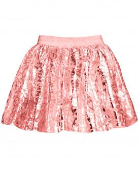 Розовая нарядная юбка 219BBGP61011000 фото