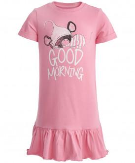 Розовая ночная сорочка 219BBGU98011200 фото