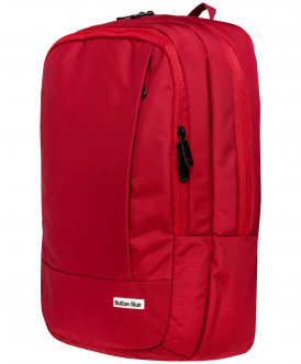 Красный рюкзак Button Blue