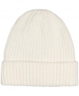 шапка button blue для девочки, белая