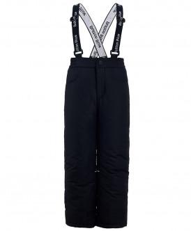 Черные утепленные зимние брюки 219BBUA64020800 фото