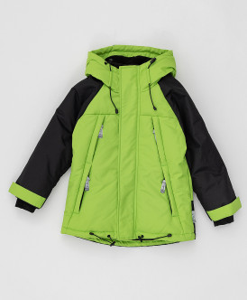 куртка button blue для мальчика, салатовая