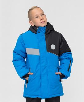 Купить 220BBBA45013700, Зимнее пальто Active Button Blue, синий, 152, Мальчики