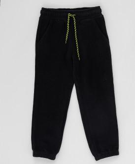 Купить 220BBBA56010800, Черные флисовые брюки Button Blue, черный, 122, Мальчики