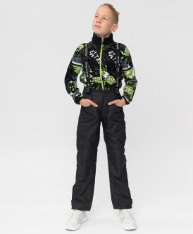 Купить 220BBBA64010800, Демисезонные брюки Active Button Blue, черный, 152, Мальчики