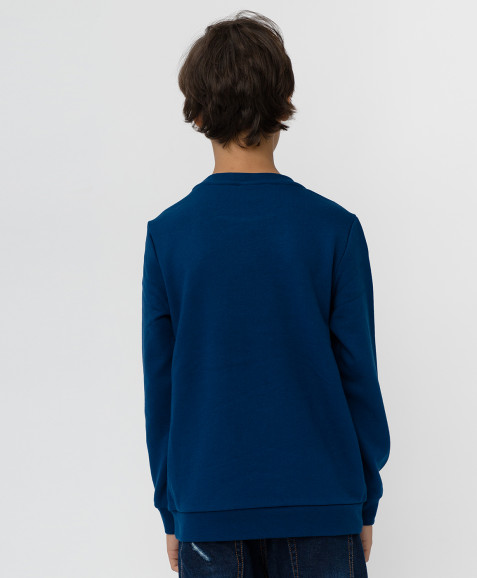 Темно-синяя толстовка