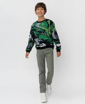 брюки button blue для мальчика, серые