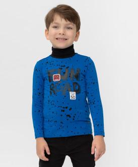 водолазка button blue для мальчика, синяя