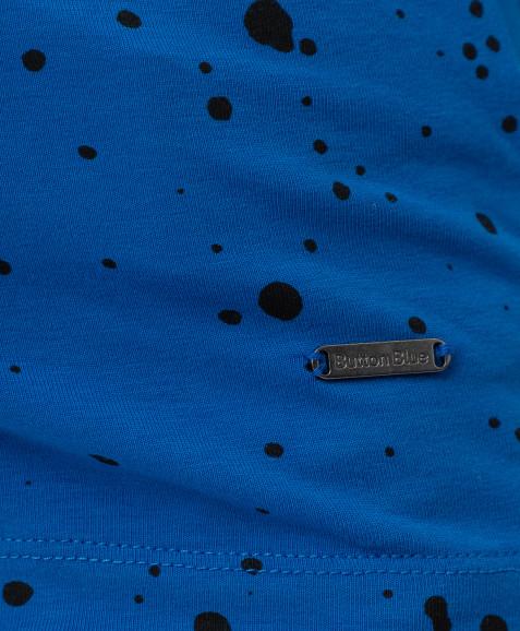 Синяя водолазка Button Blue