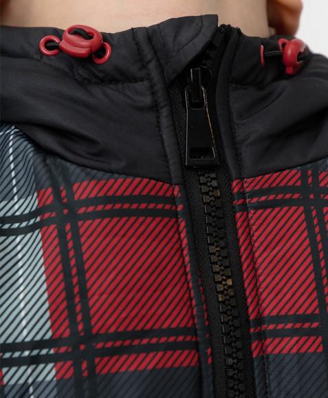 Демисезонная куртка в клетку Button Blue