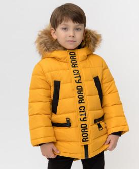 пальто button blue для мальчика