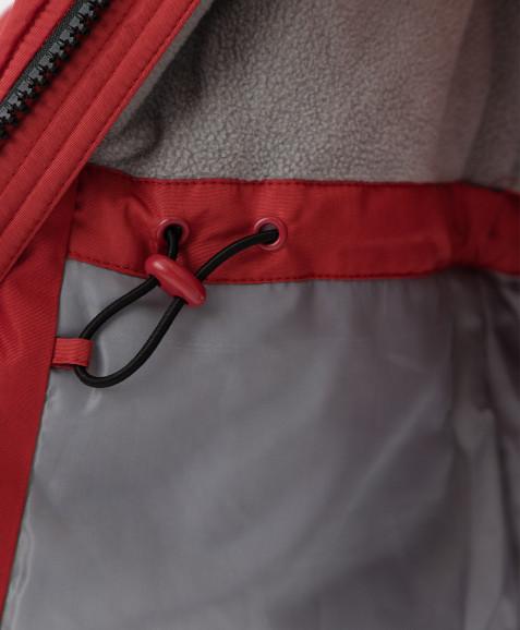 Красное зимнее пальто Button Blue