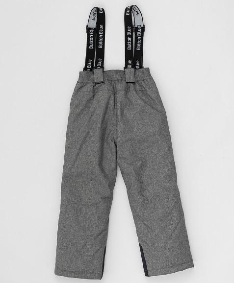 Серые зимние брюки Button Blue