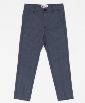 """Черные брюки с узором """"точка"""" Button Blue"""