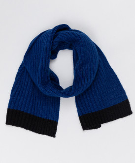 шарф button blue для мальчика, синий