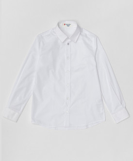 Белая рубашка 220BBBS23030200 фото