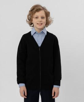 кардиган button blue для мальчика, черный
