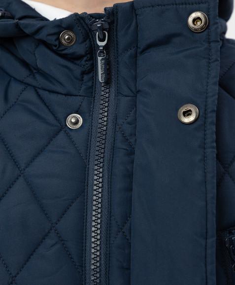 Синяя куртка Button Blue