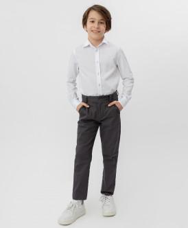 Серые брюки-слим